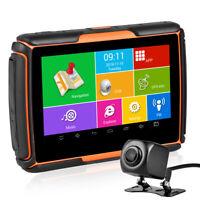 4.3 '' moto Navigation GPS de voiture Android WIFI Bluetooth IPX7 étanche + DVR