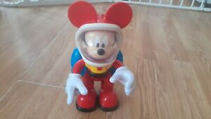 "Mickey Mouse Spaceman Astronaut Jetpack 10"" Figure Lights & Sounds Disney"