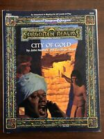 AD&D Forgotten Realms - City of Gold - Dungeons & Dragons 9349