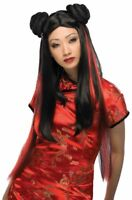 Ms Chow Wig oriental anime theatrical costume women fashion hair Rubies quality