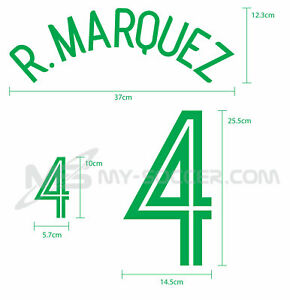 MEXICO Away World Cup 2006 REPRODUCTION PU Name Number