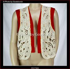 ASOS Crochet Vest Size 26 NWOT Festival Boho Smart Casual