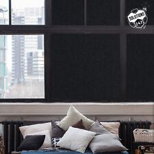 Blackout Tint Window Film Privacy Block Sun UV Protection Sleep Aid Static Cling