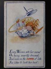 Verse: Every Women set her mind on being Smartly Dressed...1919 by The Regent Co