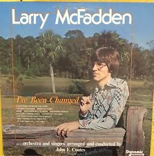LARRY McFADDEN I've Been Changed Private Press Gospel VG+ LP