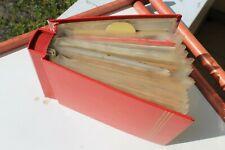 Sammlung 50 AK besondere Materialen Holz Metall bewegliche Teile Kurioses ab1898