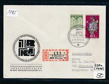 11465) Sonder R-Zettel IBRA München '73, SoU SST 11.5.73