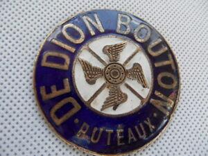 plaque de calandre ancienne modèle rare DE DION BOUTON PUTEAUX