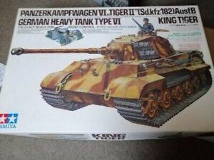 Tamiya King Tiger Panzer 1/16 Neu und OVP Königstiger Deutscher Panzer