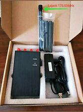 JAMMER SIGNAL Bloker 8 Canali 3G-4G-CDMA-GSM-DCS-PHS-WiFi-GPS-Lojack