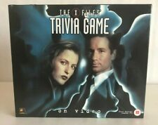 The X Files Trivia Game, 1997, New and Unused, 100% Complete