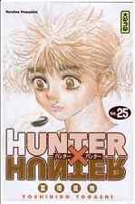 Manga Hunter X Hunter tome 25 Yoshihiro Togashi Shonen Neuf Kana VF dvd anime