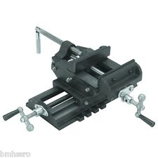 "6"" Cross Drill Press Vise Slide Metal Milling 2 Way Clamp Vice CROSS SLIDE VICE"