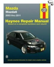 Mazda 6 Haynes Repair Manual for 2003 thru 2011 # 61043
