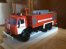 AA-8/60 Airfield fire engine (on the basis of KAMAZ(6x6)) 1:43 RUSSIA