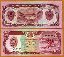 Afghanistan, 100 Afghanis, P-58, UNC