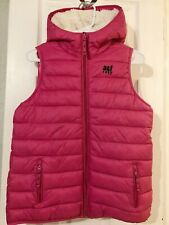 Abercrombie and Fitch Pink Hooded Vest (Excellent Condition)