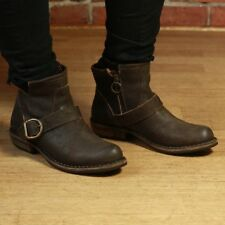 FIORENTINI + BAKER SHOES CHAD CARNABY ANKLE BOOTS BROWN SUEDE BOOTIES 36 $500