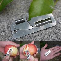 "2"" Double Peeler Stainless Steel 2 in 1 EDC Pocket Multi Tool Outdoor Opener EFC"