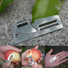 "2"" Double Peeler Stainless Steel 2 in 1 EDC Pocket Multi Tool Outdoor Opener SP"