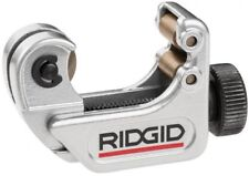 RIDGID 104 Tubing Cutter Cuts Copper Aluminum Brass Plastic Cut Tight Space Pipe