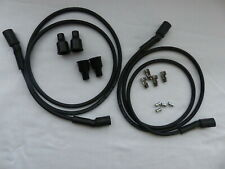 Dynatek Ignition Coil Spark Plug Wire 7mm black silicone suppression Dyna DW600
