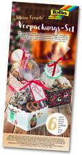 """Folia Verpackungs-Set """"Weihnachten"""" Christmas  kleine Freude Geschenkverpackung"""