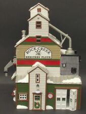 *Dept 56 Snow Village Lot The Farmer'S Co-Op Granary + Farmer'S Flatbed - Nib*