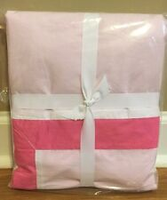 NEW Pottery Barn Teen Suite Organic TWIN Duvet PINK