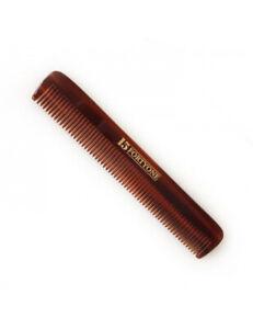 1541 London Mens Slim Fine Tooth Pocket Hair Styling Comb HC01 Length 11.6cm