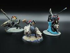 Warhammer 40k Space Wolves Thunderwolf Cavarly x3 #2 Painted R1S1B2