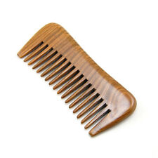 Wide Tooth Wood Comb Natural Sandalwood Hair Care Tool No-static Massage Brush