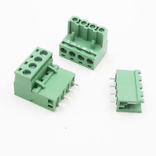 5Pcs 4PIN KF2EDGK KF-4P Plug-in Right Angle Terminal Connector Pitch 5.08mm