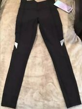 Ivivva By Lululemon Size 10 Chill Drill Pant Black BLK Luxtreme Run Practice NWT