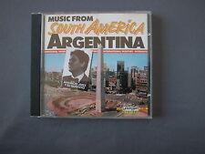 CD MUSIC FROM SOUTH AMERICA - ARGENTINA Mauricio Jerez y su Quinteto