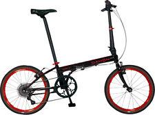 """Dahon Speed D7 20"""" Folding Bike, Obsidian Matte"""