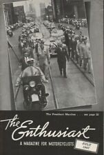 1947 July - The Enthusiast - Vintage Harley-Davidson Motorcycle Magazine
