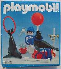 PLAYMOBIL 3518 - Circus Seehund Dressur Seelöwen Zirkus - 1983 - (V2) - in OVP