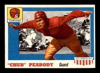 1955 Topps #72 Chub Peabody RC EXMT X1475223