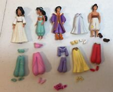 Polly Pocket Disney Princess Jasmine Aladdin Outfits Accessories Lot