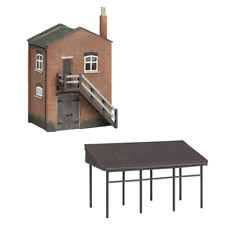 More details for graham farish 42-0088  industrial stores and canopy - n gauge