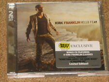 KIRK FRANKLIN - Hello Fear - EXCLUSIVE Limited Edition BEST BUY CD w/ Bonus CD!