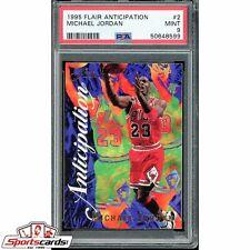 1995-96 Flair Anticipation Michael Jordan PSA 9 #2