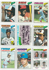 1977 77 Topps Lot YOU PICK SINGLES 22 / $2 - COMPLETE YOUR SET! Updated 7/5/2020