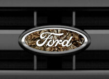 Ford CAMO Emblem Overlay Oval Badge Vinyl Decal Sticker Any Year / Model Set 2