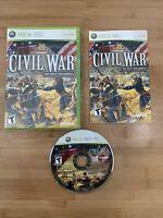History Civil War Secret Missions (Microsoft Xbox 360, 2008) - Ships Same Day