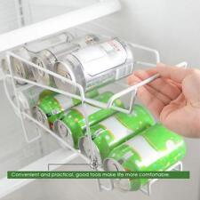 Soda Beer Coke Can Dispenser Refrigerator Beverage Rack Organize Storage Holder