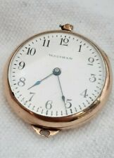 Waltham Pocket watch Gold Plate 7J. (FULL WORKING ORDER) / Repair.