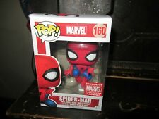 Funko Pop #160 Spider-man Marvel Collector's Corps NEW IN BOX