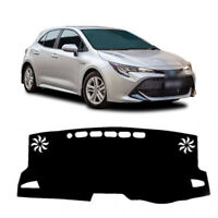Dash Mat Cover Black Color for 08/2018 ~ 2019 Toyota Corolla Hatch NO HUD
